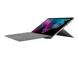 "Microsoft Surface Pro 6 12.3"" Silver Windows 10 Pro 8 GB RAM - 256 GB SSD"