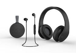 Havit i66 - Hörlurar med mikrofon - trådlös - svart