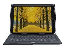 Logitech Universal Folio for 9-10 inch Tablets -trådlös - Bluetooth 3.0