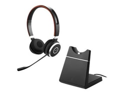 Jabra Evolve 65 MS stereo trådlös svart