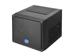 Cooler Master Elite 110 - Ultraliten modell - mini ITX (ATX / PS/2) - midnattssvart - USB/ljud