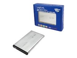 """LogiLink Ekstern Lagringspakning USB 3.0 SATA 3Gb / s 2,5 """""""