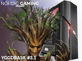 Nordic Gaming Asgard Yggdrasil # 3.1 Ryzen 5 2600 8GB 240GB GTX 1660 Ti 6GB