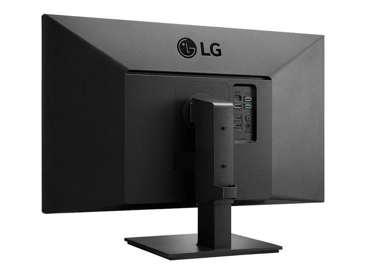 """LG 27UK670-B 27"""" 3840 x 2160 HDMI DisplayPort USB-C Pivot skärm"""