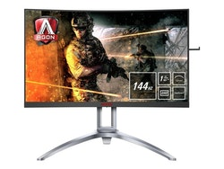 "AOC Gaming AG273QCX 27"" 2560 x 1440 VGA (HD-15) HDMI DisplayPort 144Hz"