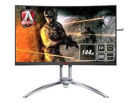 "AOC Gaming AG273QCX 27"" 2560 x 1440 VGA (HD-15) HDMI DisplayPort 144Hz"