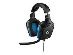 Logitech Gaming Headset G432 Kabling Svart Headset