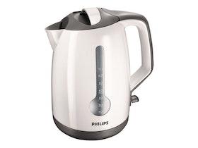 Philips HD4649 - Vattenkokare - 1,7 liter - sladdlös - 2400 W - vit / grå