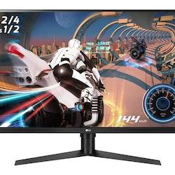 "LG 32GK650F-B 32 ""2560 x 1440 HDMI DisplayPort 144Hz Pivot Skärm"