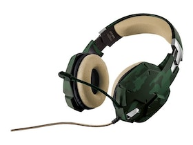Trust GXT 322 - Headset - full size - wired - Green