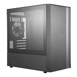 Cooler Master MasterBox NR400 Miditower Micro-ATX inget nätaggregat svart