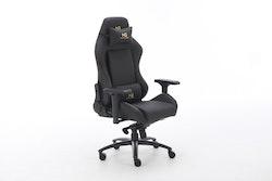 Nordic Gold Premium SE Leather Gaming Chair Black
