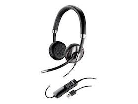 Plantronics Blackwire C720-M Trådlös Svart Headset