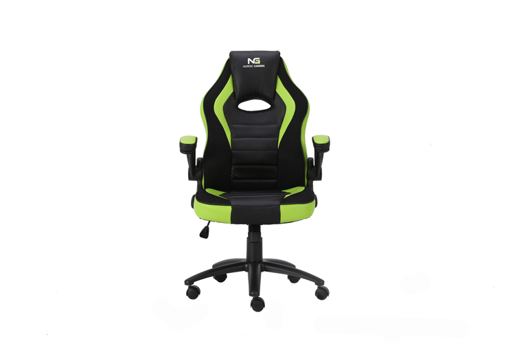 Nordic Gaming Charger V2 Gaming Chair Green Black