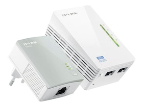 TP-Link TL-WPA4220KIT AV500 2-port Wifi Powerline Adapte Trådlös Kabling