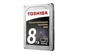 "Toshiba X300 Performance Harddisk 8TB 3.5"" SATA-600 7200rpm"