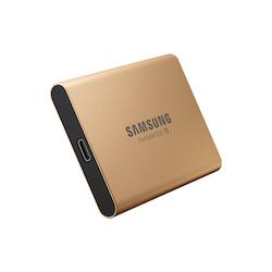 Samsung Portable SSD T5 SSD MU-PA500 500GB USB 3.1 Gen 2 Guld