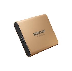 Samsung Portable SSD T5 SSD MU-PA1T0 1TB USB 3.1 Gen 2 Guld