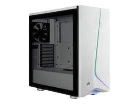 CORSAIR Carbide Series SPEC-06 RGB - Miditower - ATX - inget nätaggregat (ATX) - vit