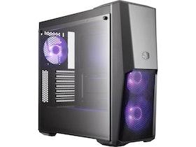Cooler Master MasterBox MB500 - Miditower - ATX - inget nätaggregat (ATX) - svart - USB/ljud