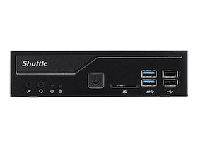 Shuttle XPC slim DH310V2 - Barebone - Slim-PC - LGA1151