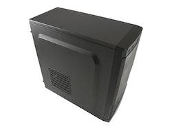 LC Power Classic 7037B Miditower ATX inget nätaggregat svart
