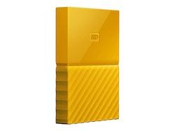 WD My Passport Harddisk WDBYFT0040BYL 4TB USB 3.0 Gul