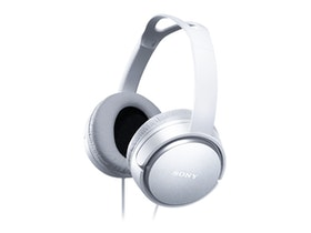 Sony MDR-XD150 - Hörlurar - fullstorlek - kabelansluten - vit