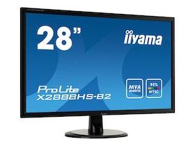 "iiyama ProLite X2888HS-B2 28"" 1920 x 1080 DVI VGA (HD-15) HDMI DisplayPort MHL"