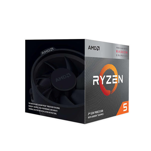 AMD Ryzen 5 3400G 4,2 GHz - AM4