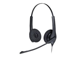 Jabra BIZ 1500 Duo Kabling Svart Headset