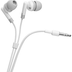 Goobay iPhone / iPod 3,5 mm stereo hörlurar vit