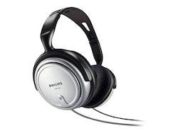 Philips SHP2500 Kabling Silver Svart Hörlurar