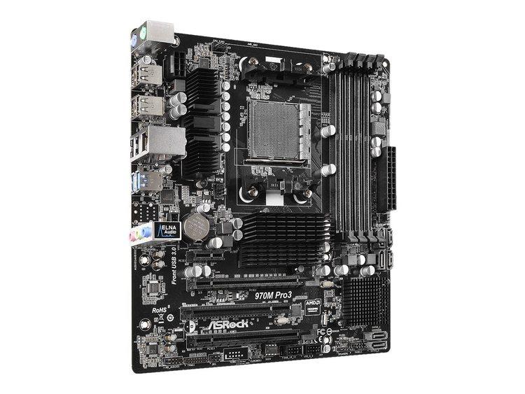 ASRock 970M Pro3 Micro-ATX AM3 + AMD 970
