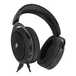 CORSAIR Gaming HS50 STEREO Kabling Svart Headset