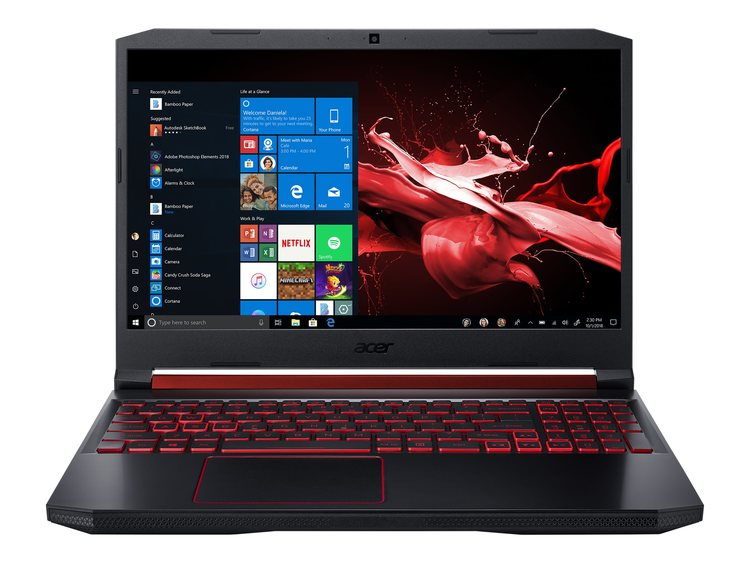 "Acer Nitro 5 15.6"" I5-9300H 8GB 512GB GTX 1650 Windows 10 Home 64-bit"