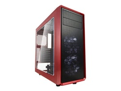 Fractal Design Focus G - Tower - ATX - inget nätaggregat (ATX) - mystisk röd - USB/ljud