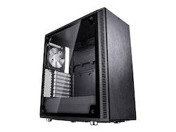 Fractal Design Define C TG - Tower - ATX - inget nätaggregat (ATX) - USB/ljud