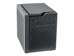 Chieftec Gaming Series - Kub - micro ATX - inget nätaggregat (ATX) - svart - USB/ljud