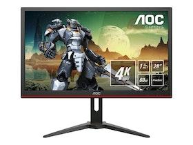 "AOC Gaming G2868PQU 28 ""3840 x 2160 VGA (HD-15) HDMI DisplayPort 60Hz"