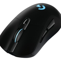 Logitech Wireless Gaming Mouse G703 LIGHTTSPEED HERO 16K Sensor Optisk Trådlös Kabling Svart