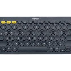 Logitech Multi-Device K380 Tastatur Trådlös Dansk / Finsk / Norsk / Svensk