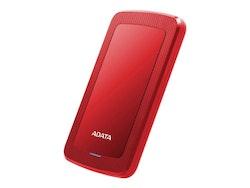 ADATA hårddisk HV300 2TB USB 3.1 Röd