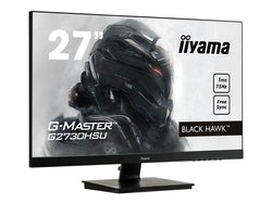 "iiyama G-MASTER Black Hawk G2730HSU-B1 27 ""1920 x 1080 VGA (HD-15) HDMI DisplayPort 75Hz"