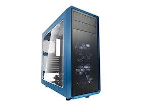Fractal Design Focus G - Tower - ATX - inget nätaggregat (ATX) - Svart Blå - USB/ljud