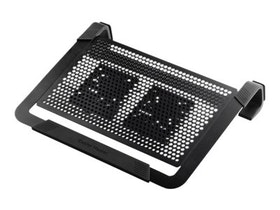 Cooler Master Notepal U2 Plus - Notebook fan - 80 mm - black