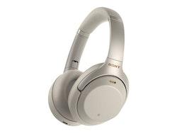 Sony WH-1000XM3 - Hörlurar - full storlek - Bluetooth - trådlös silver