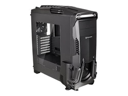 Thermaltake Versa N24 - Miditower - ATX - inget nätaggregat (PS/2) - svart - USB/ljud
