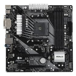 ASRock B450M Pro4-F Micro-ATX AM4 AMD B450
