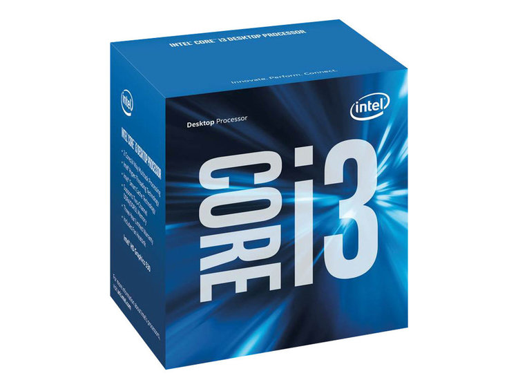 Intel CPU Core I3-6100 3,7 GHz Dual-Core LGA1151